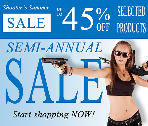 Semi-Annual Summer Shoother's Sale on Saiga-12.com