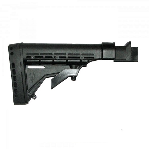 AK Saiga KickLite 6 Position M4 Style Stock with Recoil Reduction - KLT005