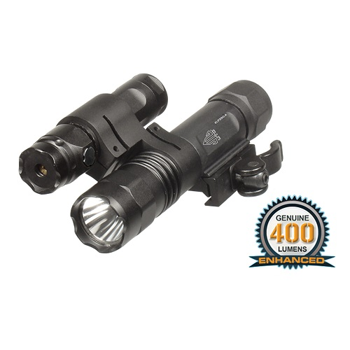 UTG Gen 2 Flashlight / GREEN Laser Combo with Integral Mount