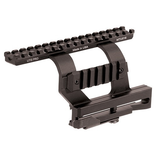 UTG PRO Made in USA Quick-detachable AK Side Mount Picatinny Rail