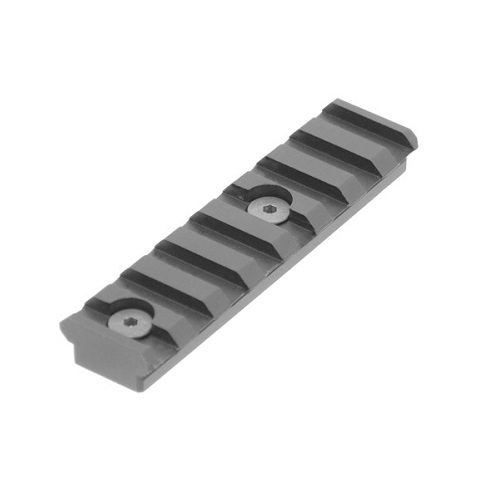 UTG Leapers PRO 8-Slot Keymod Picatinny Rail Section, Black - MTURS04M