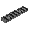 UTG PRO M-LOK 8-Slot Picatinny Rail Section - Black