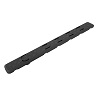 "Low Profile Keymod Rail Panel Covers, 5.5"" Black, 7 Pack"