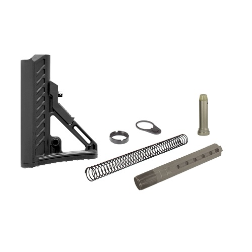 UTG PRO Model 4 Ops Ready S2 Mil-spec AR-15/M4 Style Stock Kit - Black