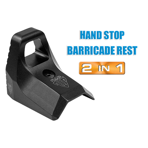 UTG Leapers Slim Keymod Hand Stop Barricade Rest Kit for AR-15 & AK-47 Keymod  Handguard Systems - TL-HS02B