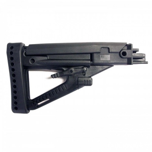 ARCHANGEL OPFOR AK-series 4 Position Adjustable Butt-Stock, with Recoil Pad (ProMag)